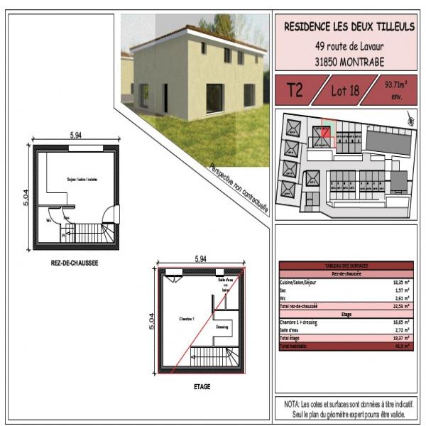 Programme neuf Appartement Montrabé 31850