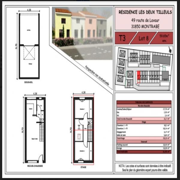 Programme neuf Maison Montrabé 31850