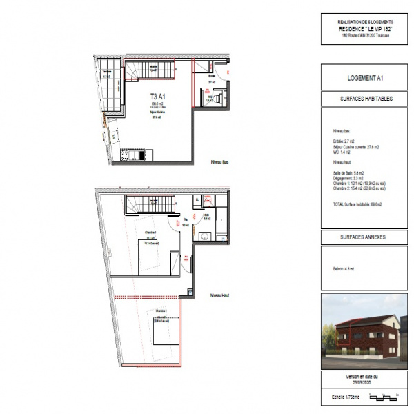Programme neuf Appartement Toulouse 31200