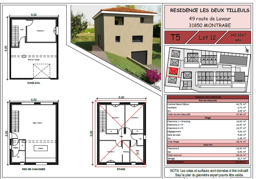 Programme neuf Villa Montrabé 31850